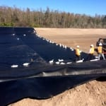 COMANCO Begins the Installation of HDPE Liner at a Central Florida Water Treatment Plant