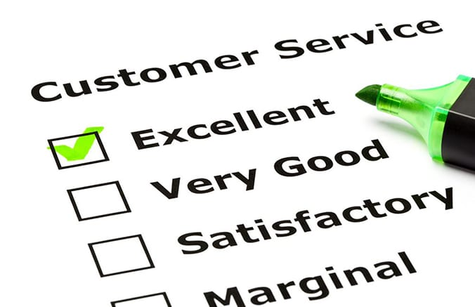 how would you define excellent customer service