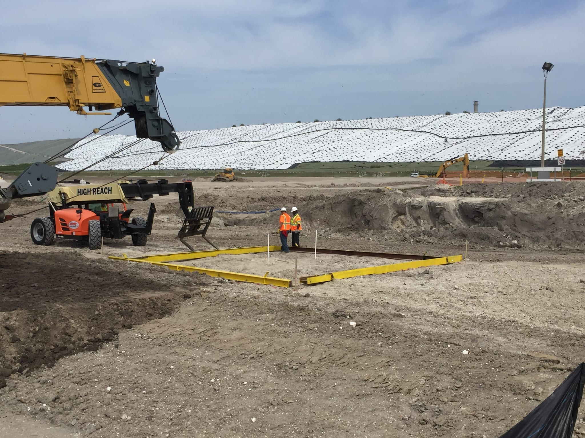 COMANCO Begins Sheet Pile Installation At Polk County NCLF