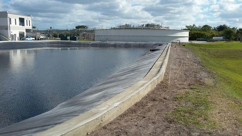 Effluent storage best storage design 2017 for 90 gallon pond liner