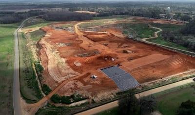 Liner Installation begins in North Florida - COMANCO