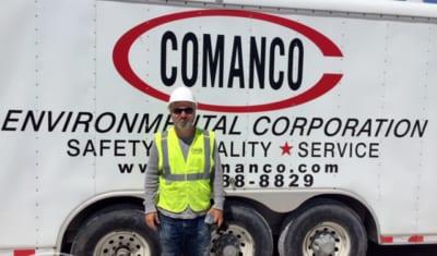 oscar gonzalez Celebrates 9 Years of SERVICE - COMANCO