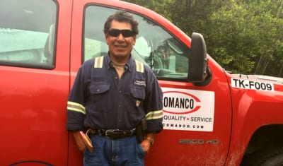 Silvino Sanchez Olivares celebrates 8 Years with COMANCO